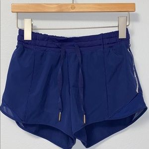 🍋 Lululemon Hotty Hot 1 shorts Blue, Long